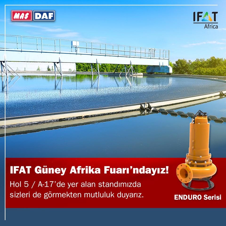 MAS DAF İnovatif Ürünlerini, IFAT Afrika'da Tanıtacak